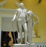 Houdon Statute of George Washington in the State Capitol